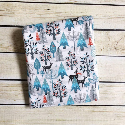 Winter Wonderland Organic Baby Swaddle Blanket
