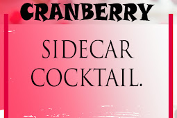 CRANBERRY SIDECAR COCKTAIL