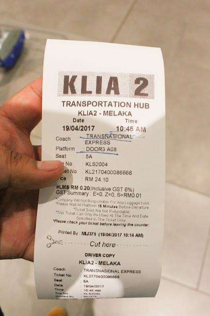 tiket bis transnasional