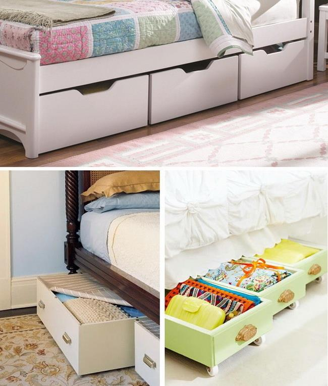 under bed storage boxes or drawers with wheels. Black Bedroom Furniture Sets. Home Design Ideas