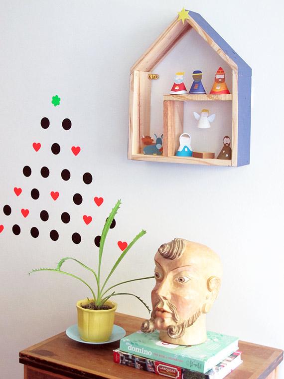 Resultado de imagem para decoração com presépio