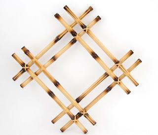 Hiasan Dinding Dari Bambu