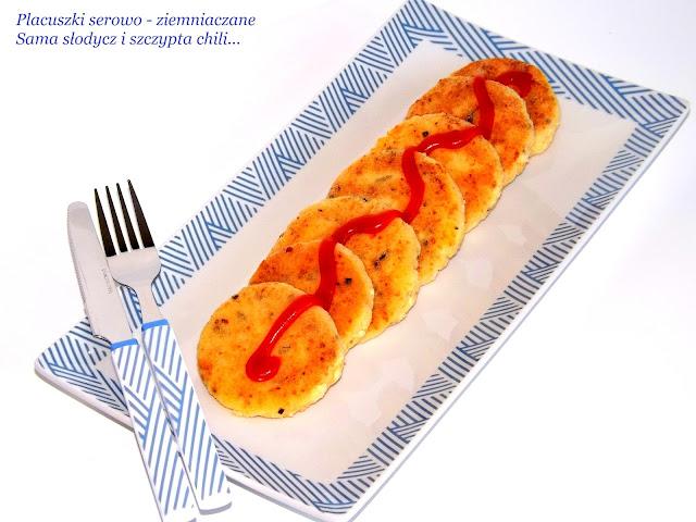 Placuszki serowo-ziemniaczane.