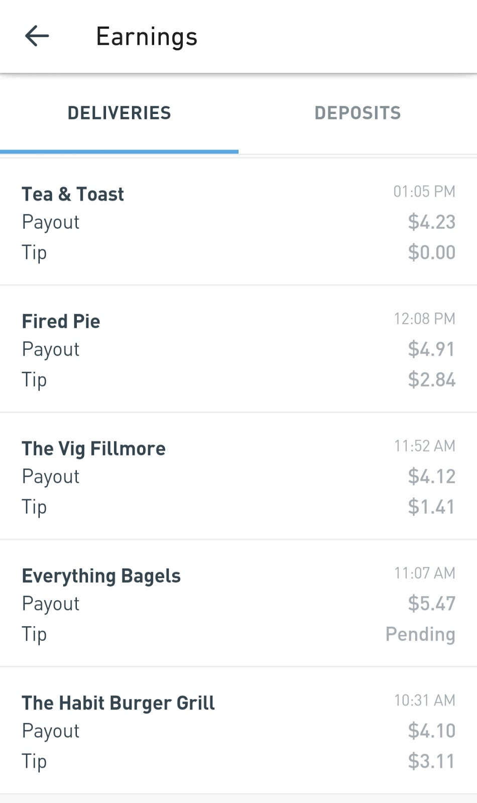 Money Here and There: Postmates: Food & Merchant Delivery