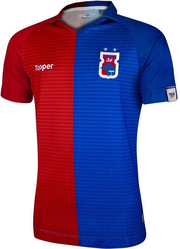 79f7070d37 Topper lança as novas camisas do Paraná Clube - Show de Camisas