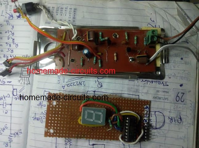 whistle counter PCB component assembly image