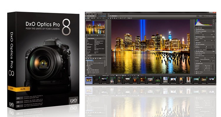 أحصل على برنامج DxO Optics Pro 8 محرر الصور مجانا بطريقة شرعية و الذي ثمنه 299 دولار