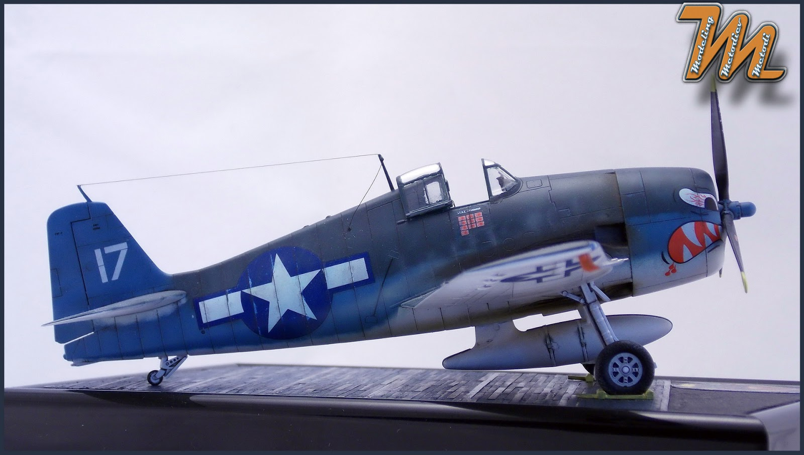F6F-3, Hellcat, VF-27, aircraft scale model