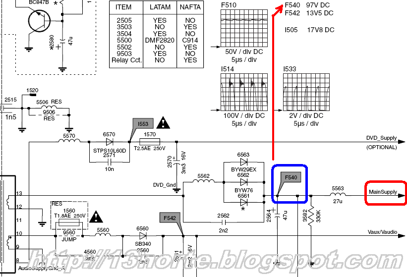 B  Chasis L03 1laa Diferencia En Diagrama