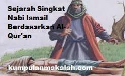 Sejarah Singkat Nabi Ismail Berdasarkan Al-Qur'an