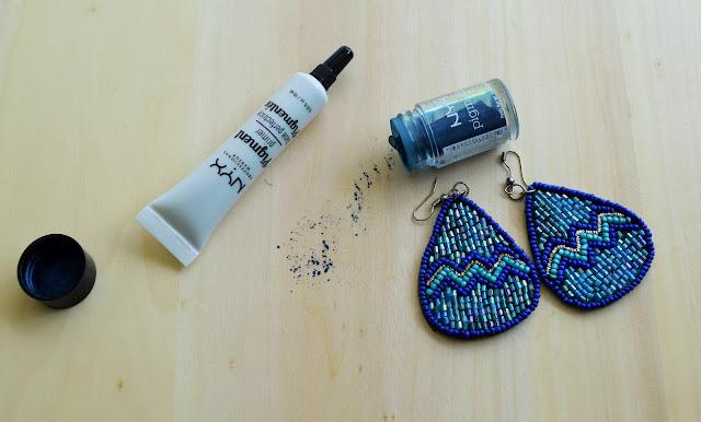 NYX Professional cosmetics eye pigments