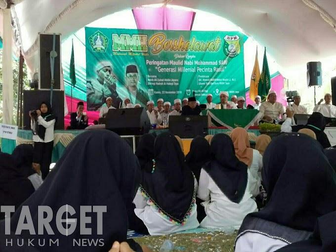 Dalam Rangka Maulid Nabi Muhammad SAW, MMH Tayu Bersholawat