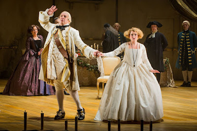 Der Rosenkavalier - Opera North - Henry Waddington, Fflur Wyn - Photo Credit: Robert Workman