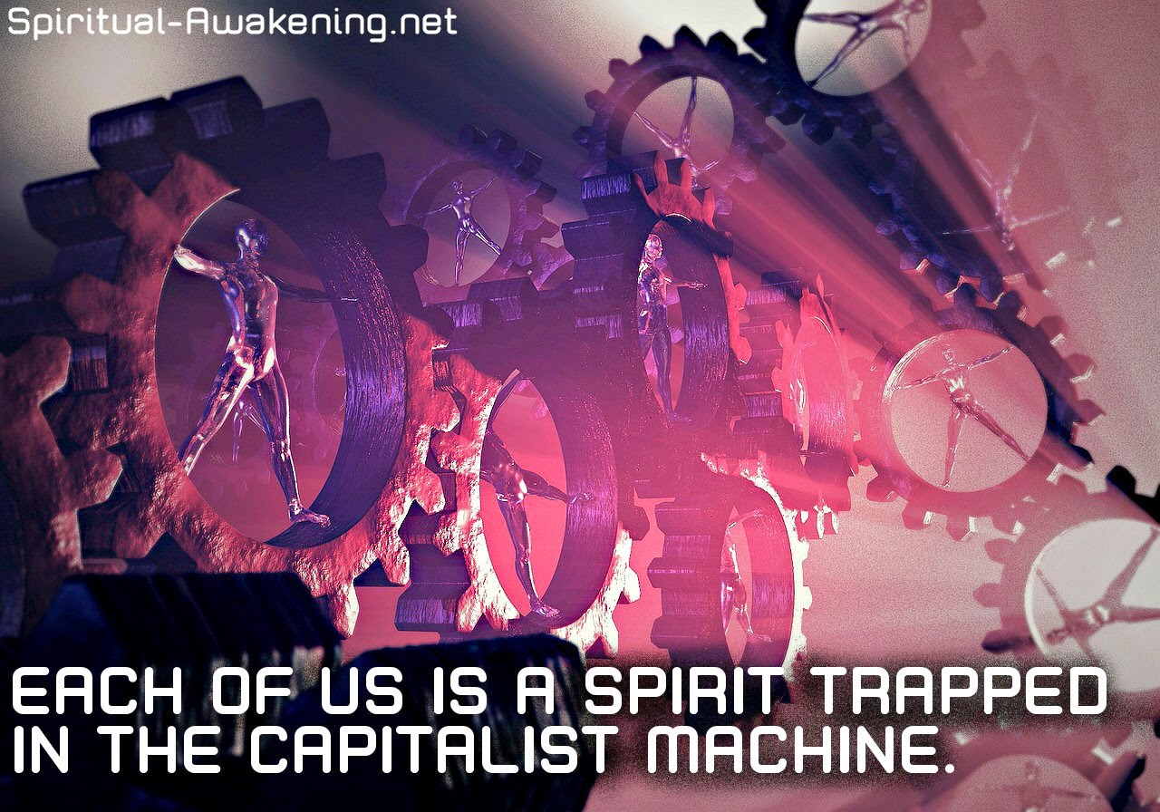 capitalist spiritual quote