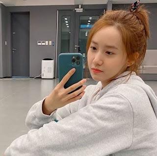 SNSD YoonA Practice Room