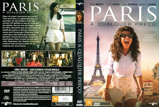 Capa DVD Paris A Qualquer Preço (Oficial)