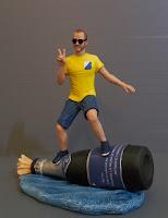 statuine per torte modellino uomo surfista sportivo statuette da foto orme magiche