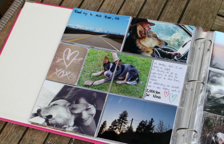 Project Life scrapbook