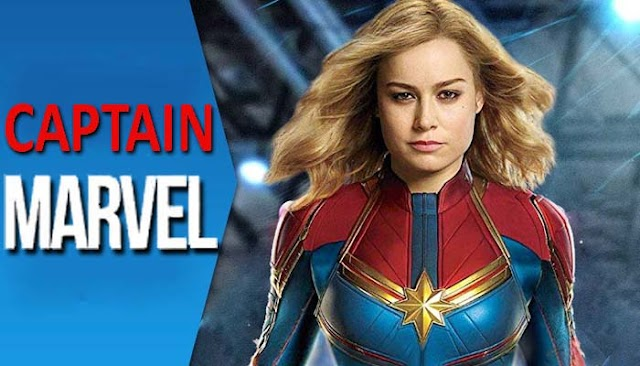 Captain Marvel trailer features Brie Larson battling at space