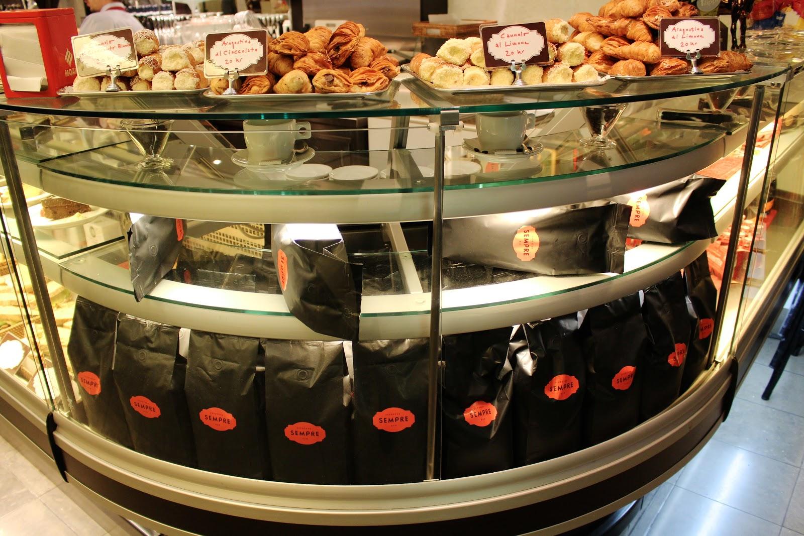 Best coffee & fika in stockholm: Sempre espresso bar
