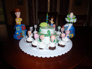 Juneill S Parties Amp Sweets Toy Story Cake 1st Birthday Boy