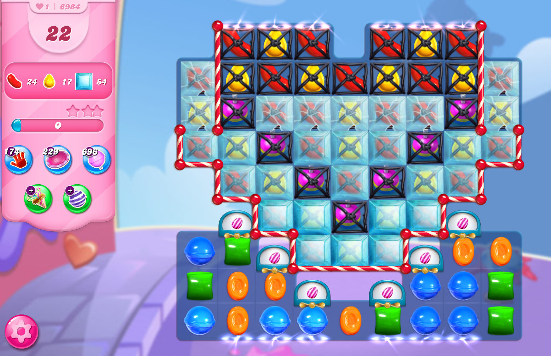 Candy Crush Saga level 6984