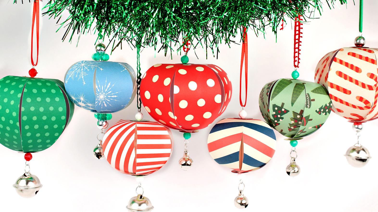 Mark Montano Easy Paper Christmas Ornaments