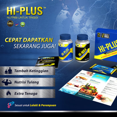 Hi-plus, supplement hi-plus, hi-plus tambah tinggi, review produk , review supplement hu-plus, makanan tambahan untuk ketinggian badan