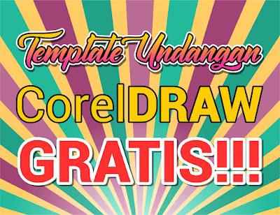 8 Template Undangan Keren Corel Draw