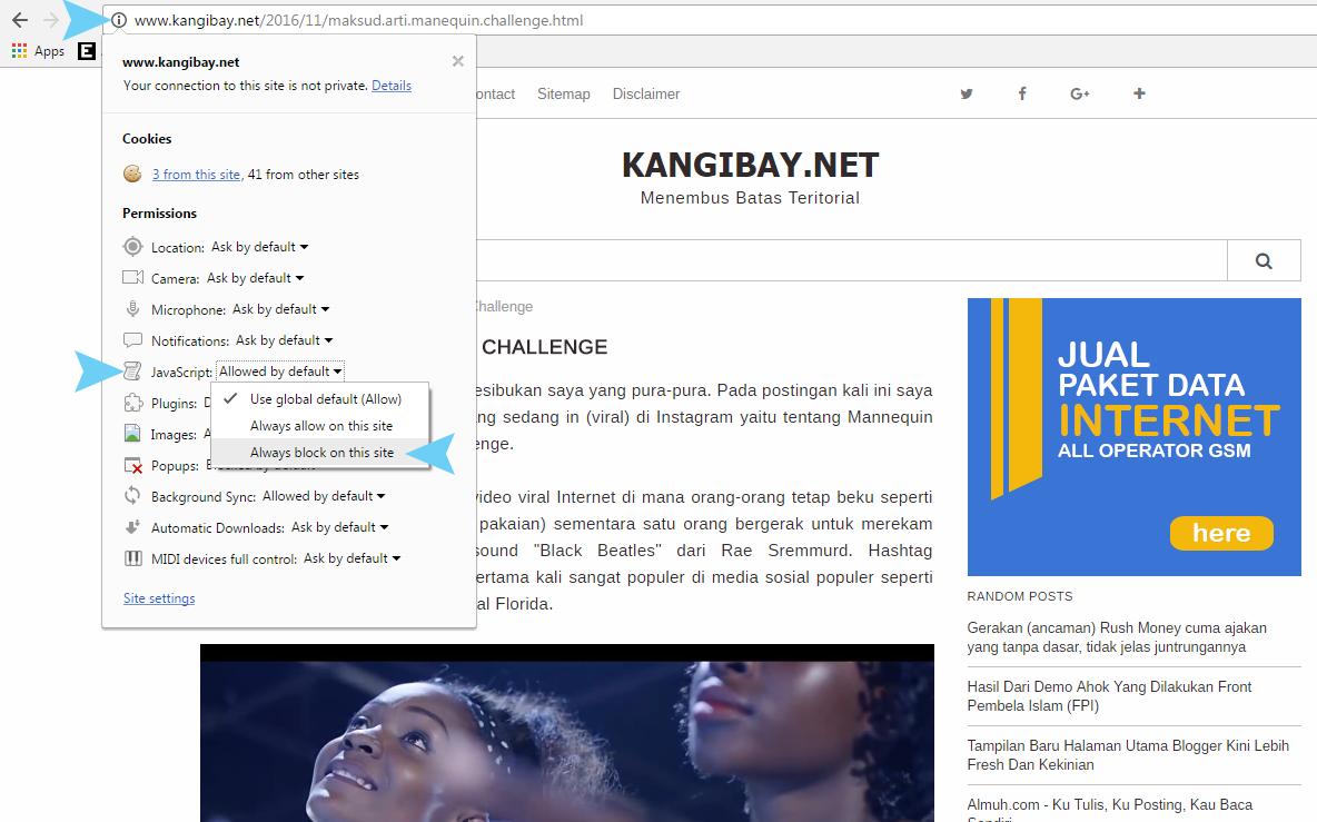 Cara Copy / Paste Artikel pada Website Anti-Copas Terbaru