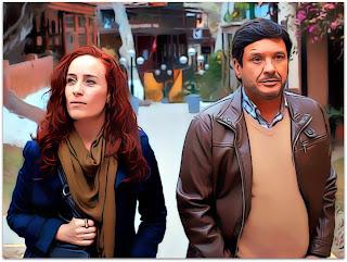 La Ultima Tarde - Laura (Katerina D'Onofrio) e Ramon (Lucho Cáceres), nas Ruas de Lima