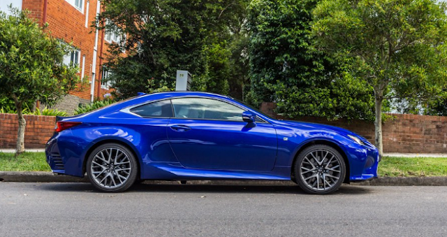 2017 Lexus RC200t Review