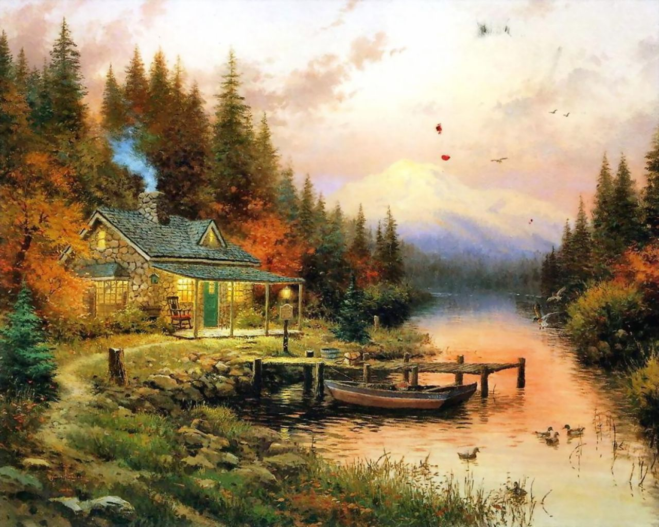 Ted Burke LIKE IT OR NOT: Painter Of Lightu0027 Artist Thomas Kinkade Dies At  Age 54 Design Inspirations