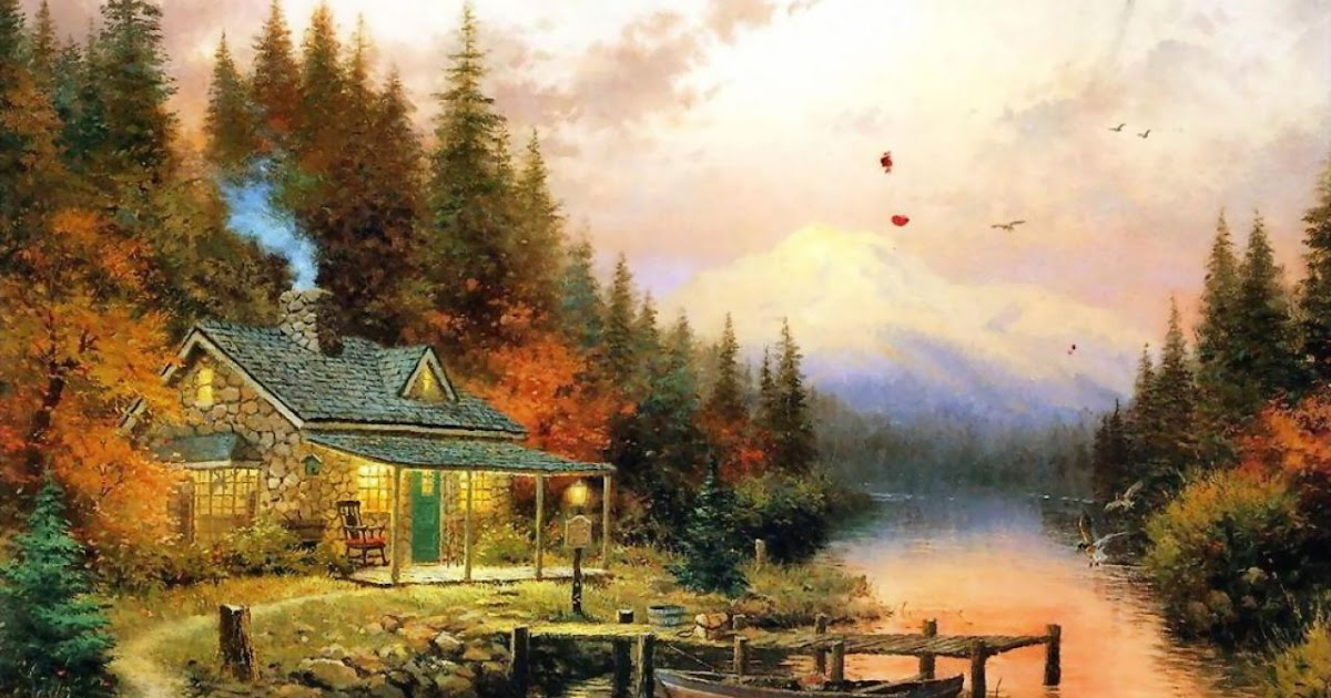 Ted Burke Like It Or Not Painter Of Light Artist Thomas Kinkade