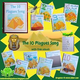 http://www.biblefunforkids.com/2013/09/moses-10-plagues-song-flipchart-and-more.html