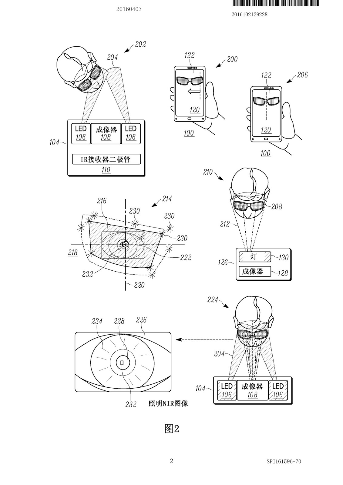 Motorola files patent for Iris Scanner, Could We See It On