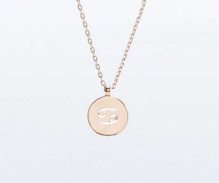 Zodiac Jewellery Blog Cancer Necklace Pendent Urban Outfitters