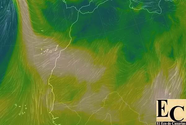 Calima en Canarias niveles altos viernes 27 y sábado 28 octubre