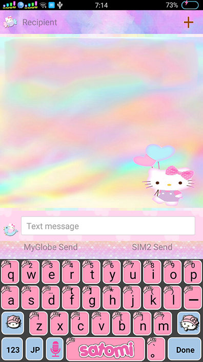 Oppo Theme: Oppo Hello Kitty New Pastel Theme