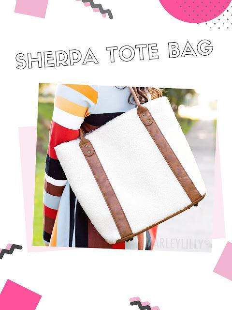 soft sherpa purse