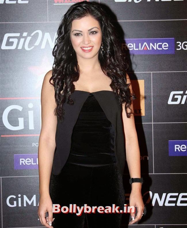Maryam Zakaria, Global Indian Music Awards 2014 Pics