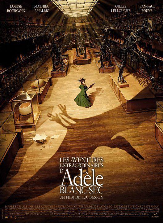 The Extraordinary Adventures of Adèle Blanc-Sec พลังอะเดล ข้ามขอบฟ้า โค่น 5 อภิมหาภัย [HD][พากย์ไทย]