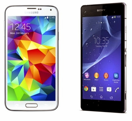Better Android Smartphone: Samsung Galaxy S5 or Sony Xperia Z2?