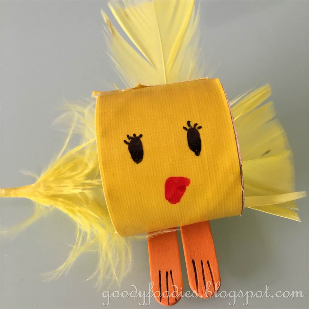 goodyfoodies cute easter chick crafts for kids