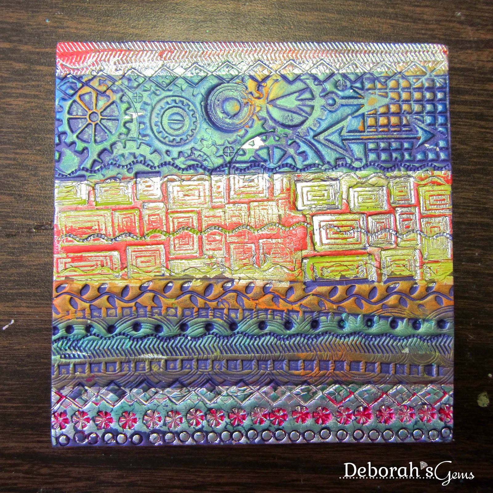 Deborah's Quilt - photo by Deborah Frings - Deborah's Gem