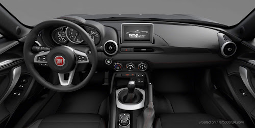 Fiat 124 Spider Urbana Edition Dashboard