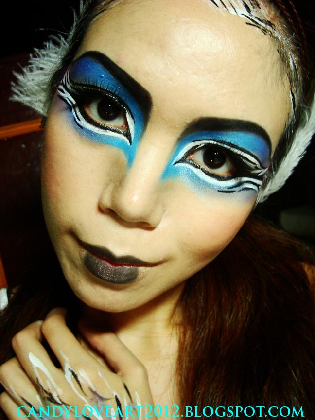 CandyLoveArt: My Avant Garde Bird Makeup Tutorial