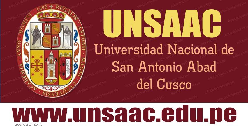 UNSAAC publicó Resultados Examen Simulacro 2019 (Domingo 25 Noviembre) Primera Oportunidad - Universidad Nacional de San Antonio Abad del Cusco - www.unsaac.edu.pe