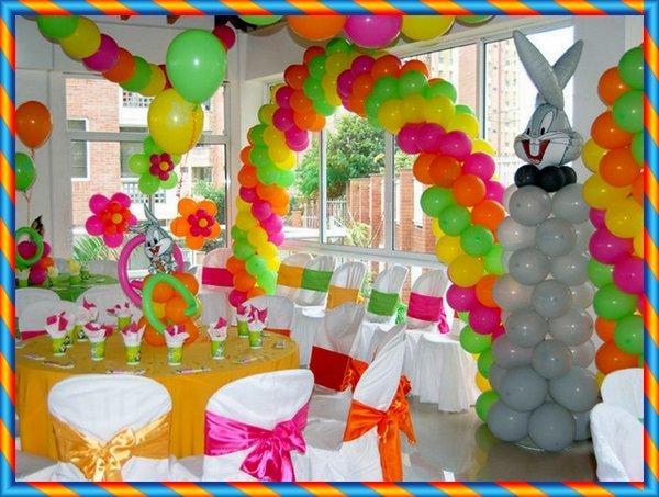 Dulces Pasteles Y Celebraciones Decoracion De Fiesta De Cumpleanos - Decoracin-cumpleaos-infantiles