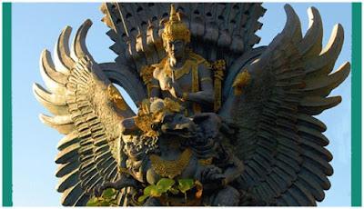 Berita Misteri - Patung Wisnu Menaiki Garuda
